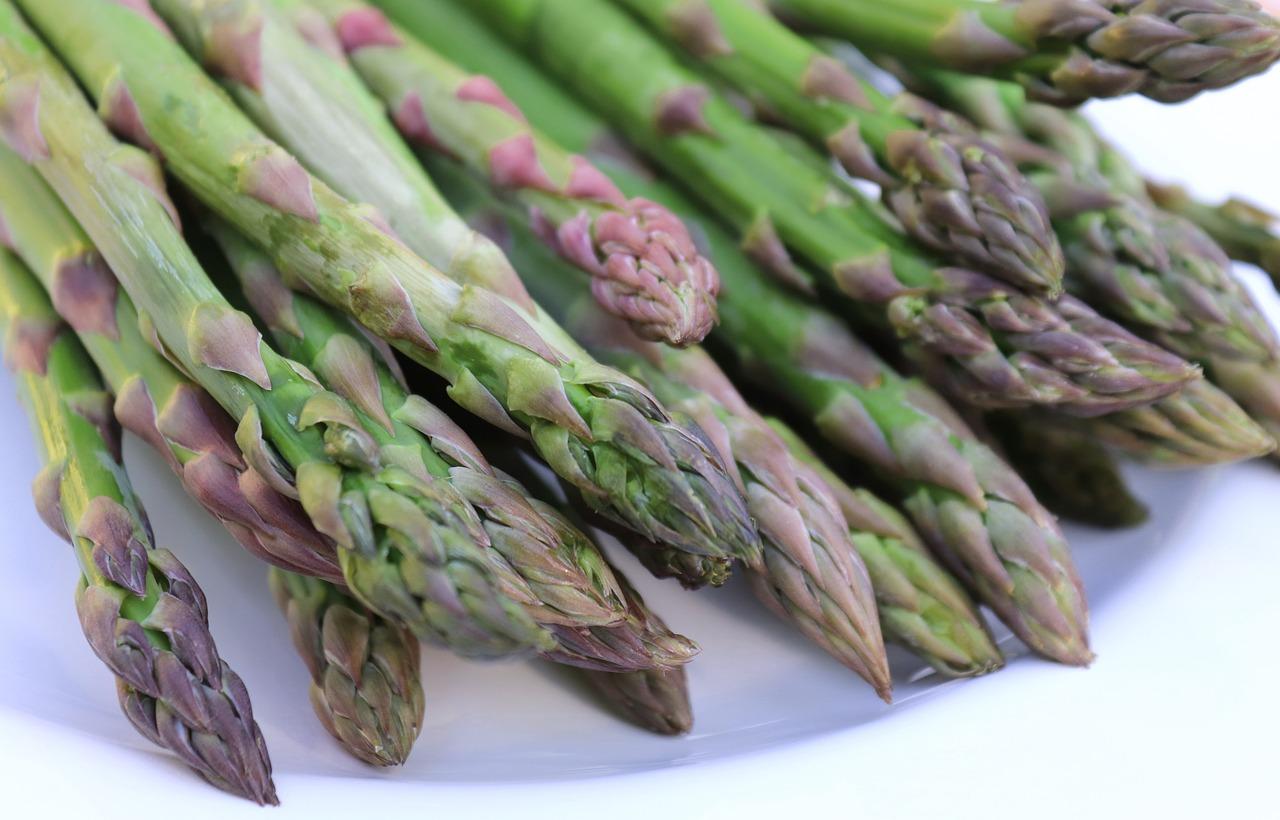 cuisson des asperges vertes