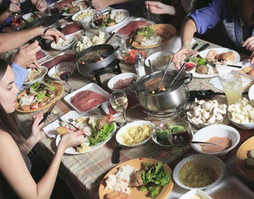 recettes de fondues préférées en Suisse
