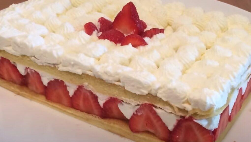 fraisier mascarpone